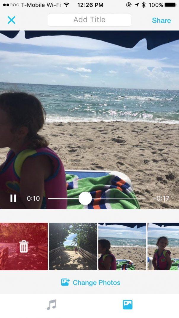 Facebook Moments : Personnalisation de vidéo