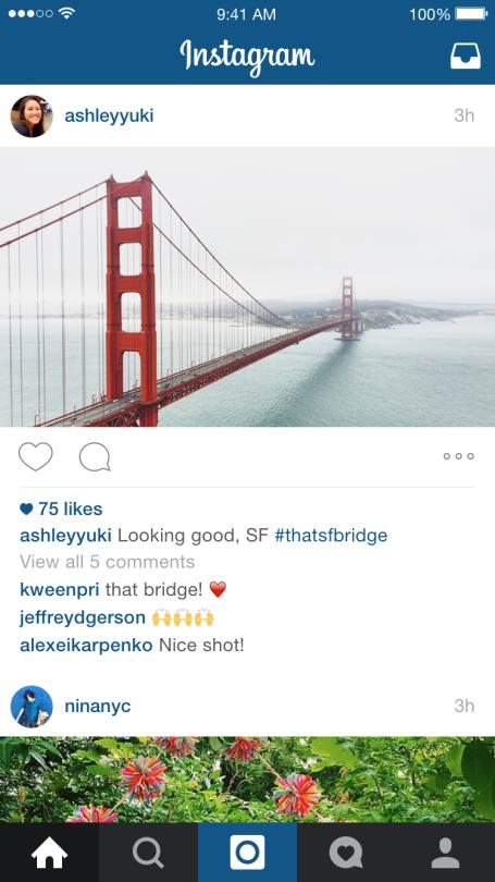 Instagram photos aux formats paysage et portrait weblife for Agence format paysage