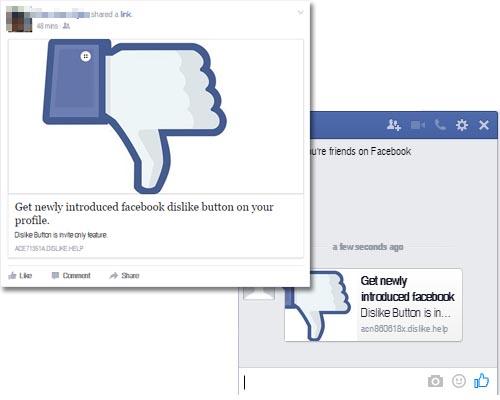 Escroquerie Facebook