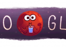 Google : De l'eau sur Mars en doodle animé