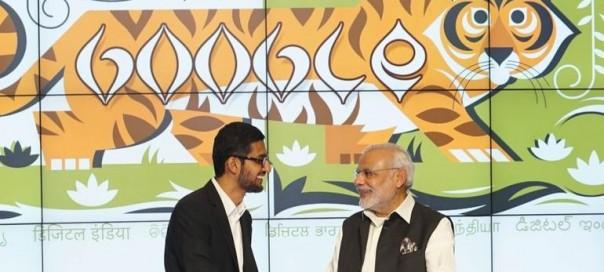 Google offre 400 bornes Wi-Fi pour les gares en Inde