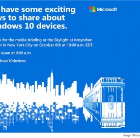 Microsoft : Invitation pour découvrir de nouveaux équipements Windows 10