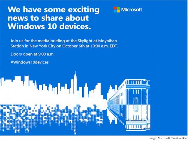 Microsoft : Invitation Windows 10