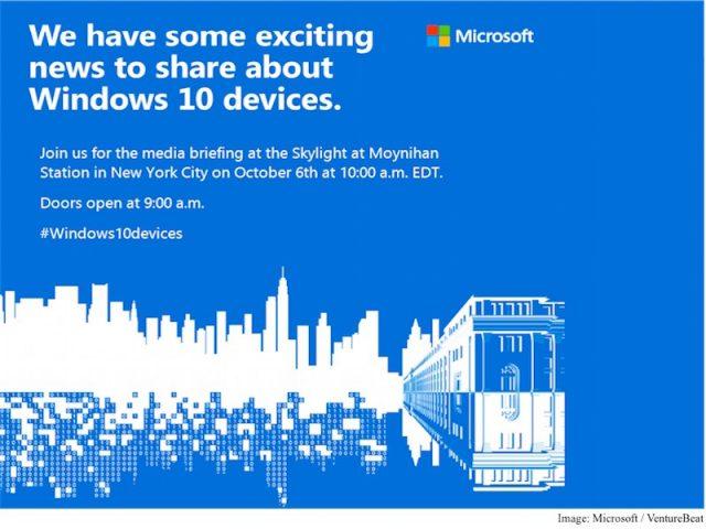 Microsoft : Invitation Windows 10