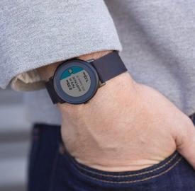 Pebble Time Round : Version ronde de la montre connectée