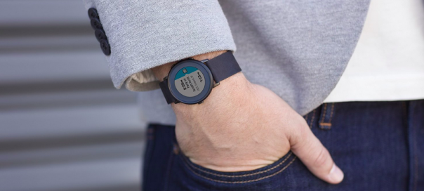 Pebble Time Round : Version ronde de la montre connectée