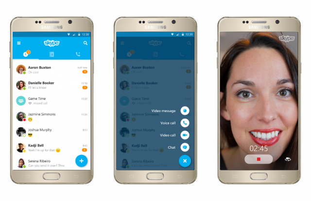 Skype pour Android