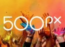 500px : Nouveau logo pour le réseau social