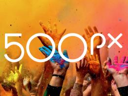 Logo 500px 2015