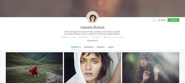 500px : Refonte du réseau social de photos