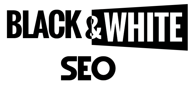 Logo Black and White SEO