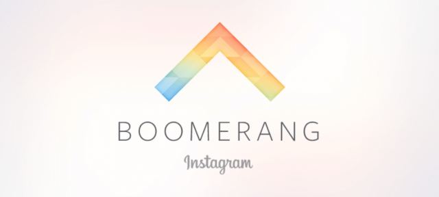 Logo Boomerang from Instagram