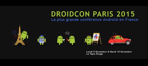 Droidcon Paris 2015