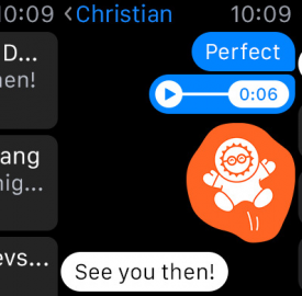 Facebook Messenger : L'application Apple Watch est disponible
