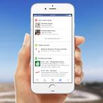 Facebook : Onglet de notifications - Evènements, jeux & programme TV