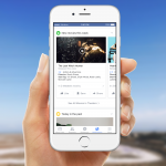 Facebook : Onglet de notifications - Films