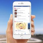 Facebook : Onglet de notifications - Lieux & évènements