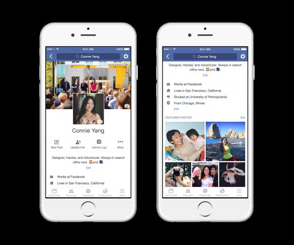 Facebook : Profil vidéo - 5 photos