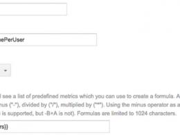 Google Analytics : Variables calculées