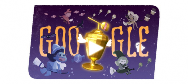 Google : Doodle Halloween – Global Candy Cup 2015