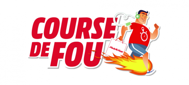 Media Markt : Course de fou