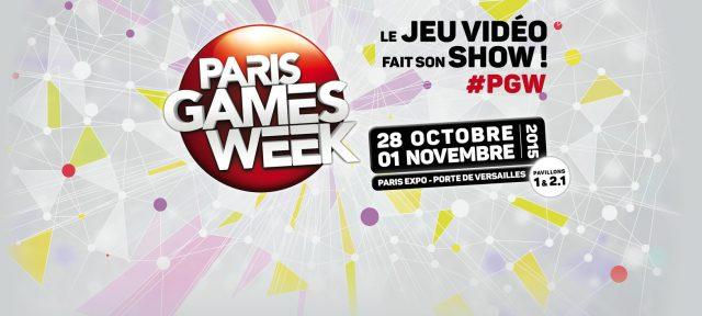Logo Paris Games Week 2015