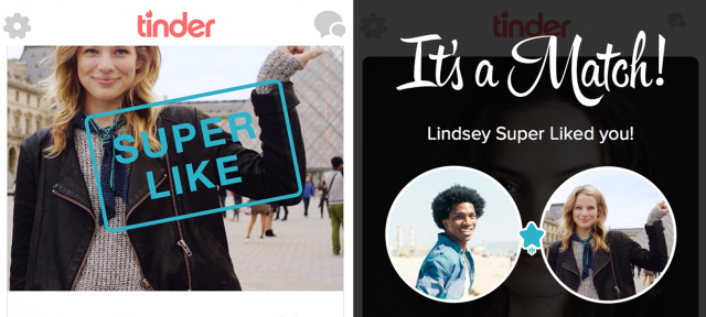 Tinder : Super Like
