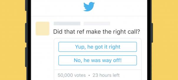 Twitter : Les questions intégrées aux tweets sont là