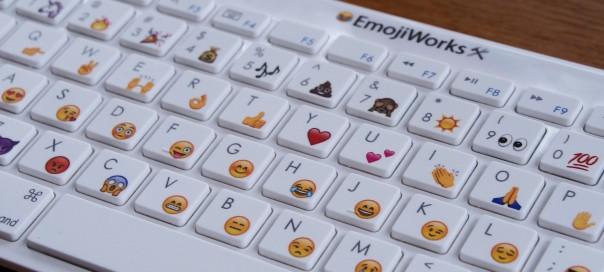EmojiWorks : Le clavier avec Emojis intégrés comme cadeau de noël ?