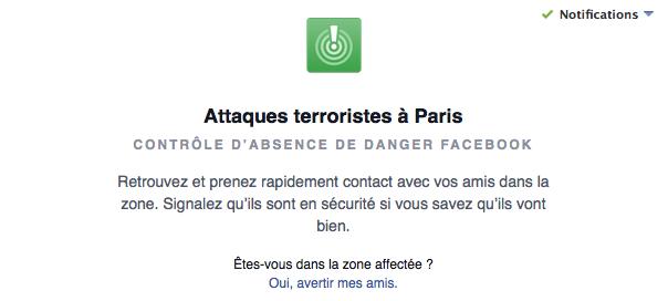 Attaques terroristes : Parisiens, rassurez vos proches