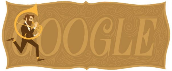 Google : Doodle Adolphe Sax 1