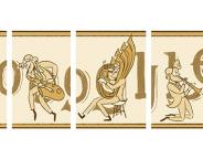 Google : Adolphe Sax et le saxophone en 5 doodles