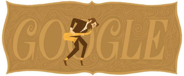 Google : Doodle Adolphe Sax 2