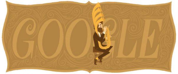Google : Doodle Adolphe Sax 3