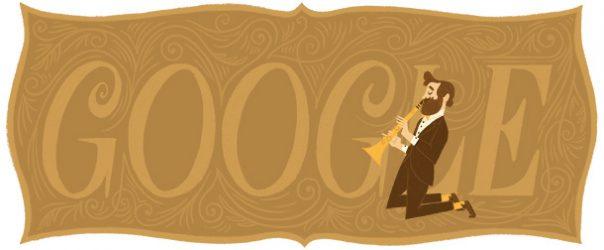 Google : Doodle Adolphe Sax 4