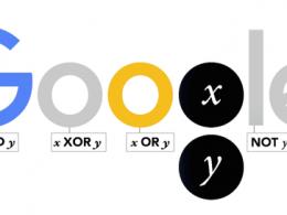Google : Doodle George Boole
