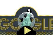 Google : Hedy Lamarr, la star et son système de codage en doodle