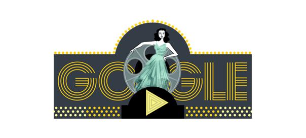 Google : Doodle Hedy Lamarr