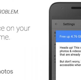 Google Photos : Supprimer ses photos pour libérer de la mémoire