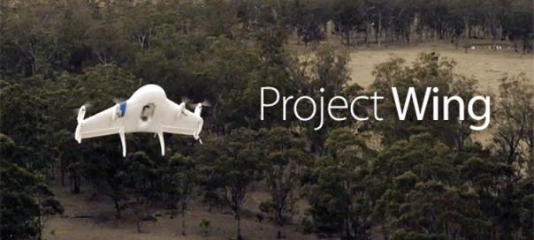 Google : Service de livraison par drones pour 2017
