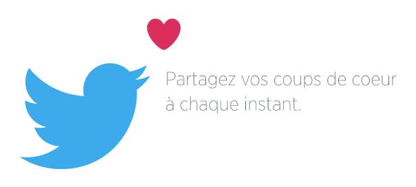 Twitter : Coeur