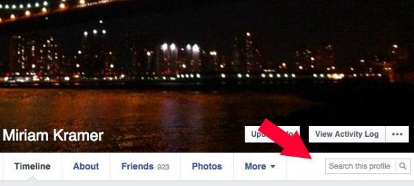 Facebook : Un champ de recherche sur les profils personnels