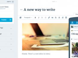 WordPress : Nouvel éditeur