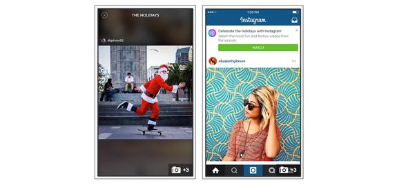Instagram : Diffusion de vidéos par le réseau social pour les fêtes