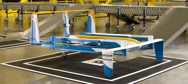 Amazon étend le test de ses drones au Royaume-Uni