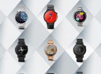 Android Wear : Cadrans de montres