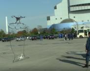 Drones : La police équipe sa flotte de filets pour la capture
