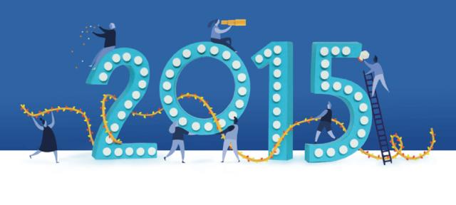 Facebook : Rétrospective de l'année 2015