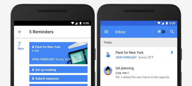 Google Agenda : Rappels