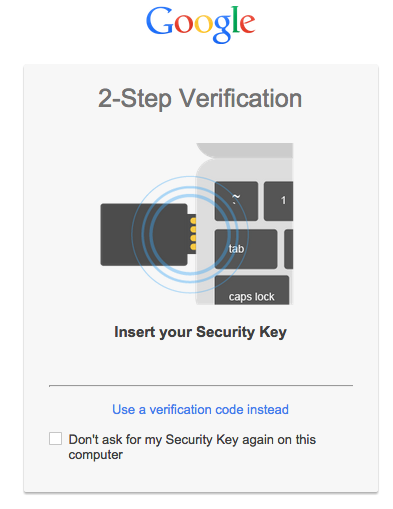 Google Authenticator : Clé de sécurité